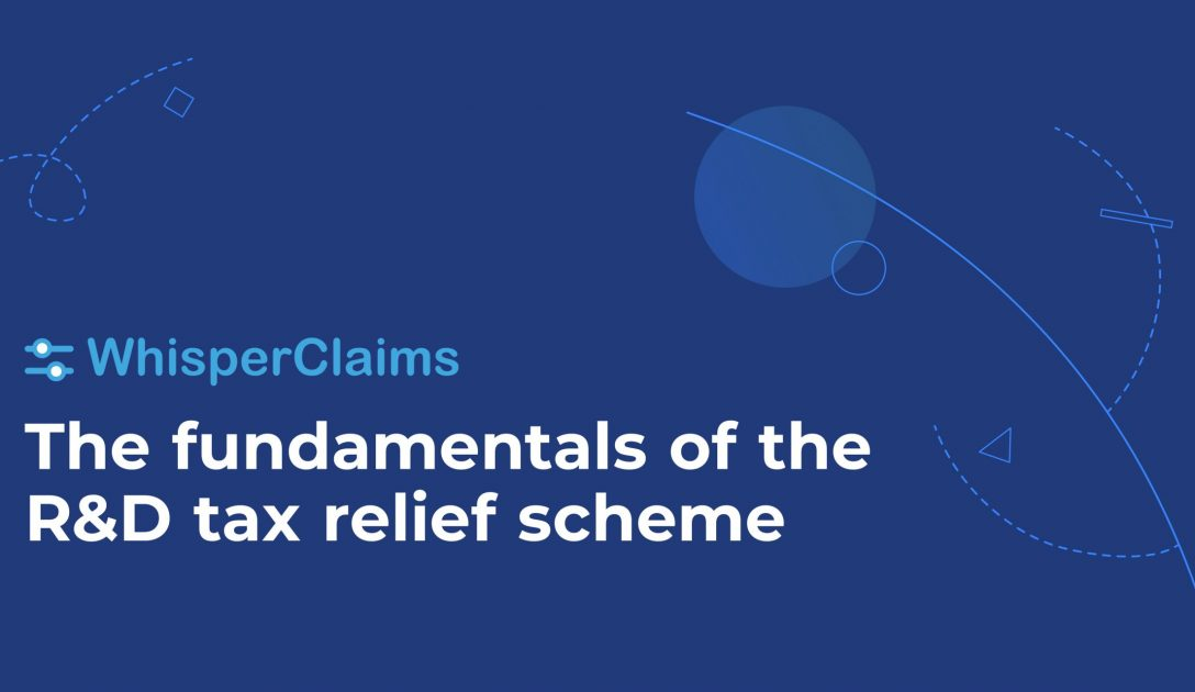 WhisperClaims R&D tax relief training course