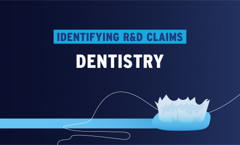Identifying R&D Claims in Dentistry