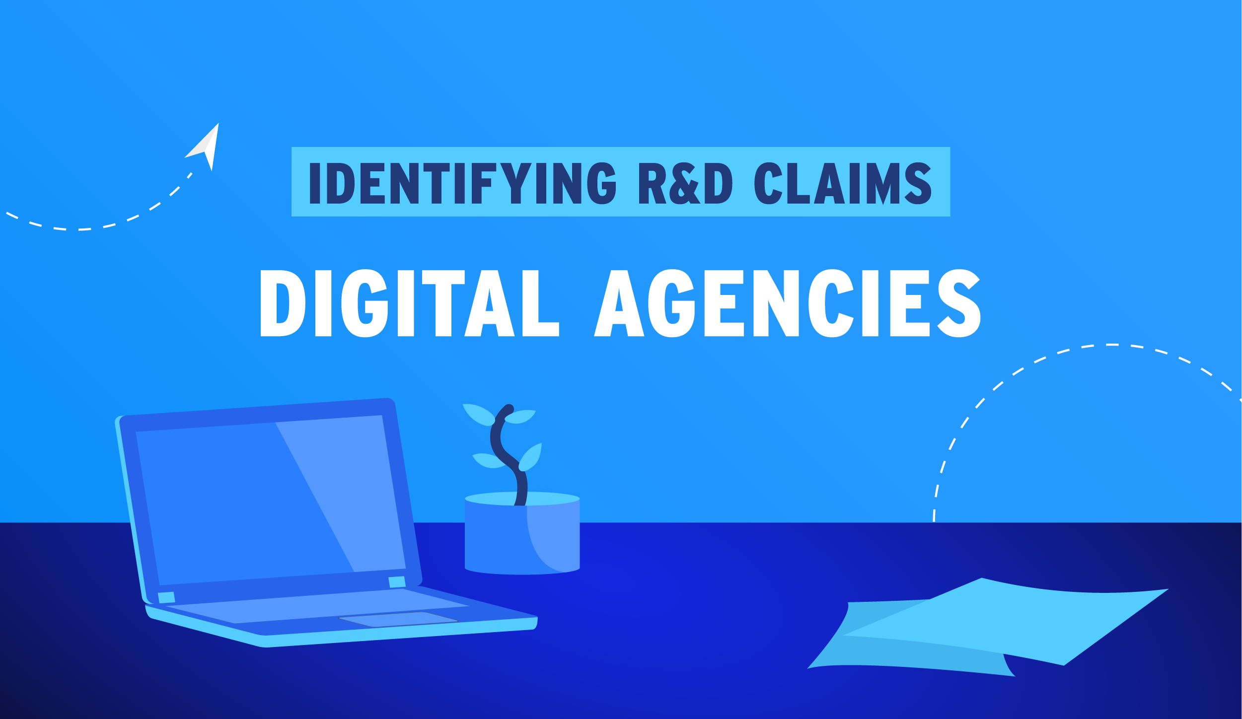 Banner image of whether or not Digital Agencies qualify for R&D