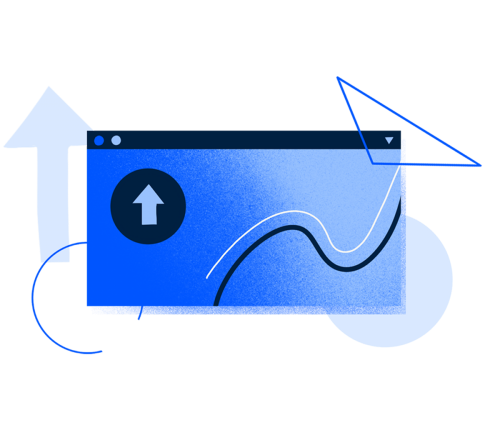 Illustration for a software updates screen