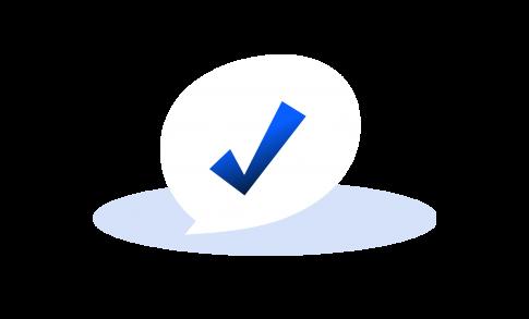 WhisperClaims Value: Tickmark representing respect