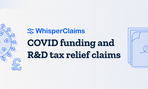 How does money coming from COVID grants affect R&D claims?