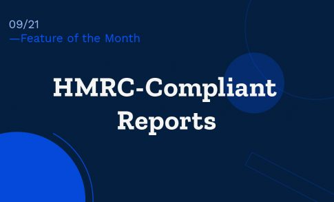 A graphic showcasing WhisperClaims' app updates relating to producing HMRC-compliant reports