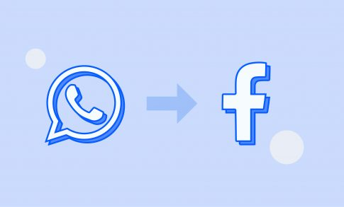 Banner displaying the WhisperClaims initiative of moving from WhatsApp to Facebook in order to better communicate with our R&D community