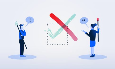 A client and an R&D accountant disagreeing